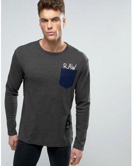Beraw Qane Regular Pocket Long Sleeve Top