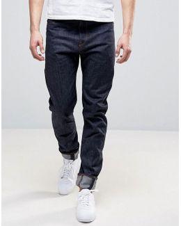 Lanc 3d Tapered Anti Fit Jeans Raw Denim