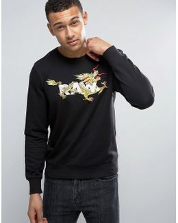Nolyn Embroidered Dragon Sweater