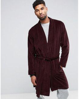 Robe In Velour