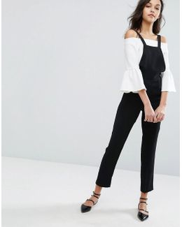 Tailored Overall Jumpsuit