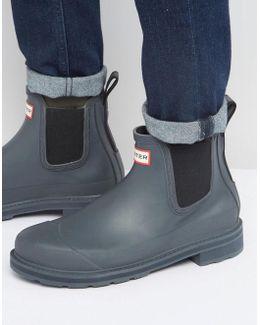 Original Pulltab Wellington Boots In Black
