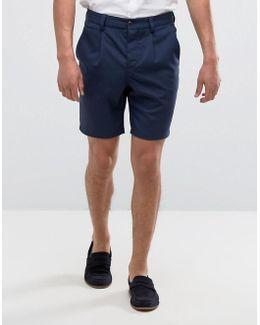 Premium Skinny Tailored Shorts