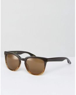 Vista Square Sunglasses In Rye
