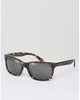 Weston Square Sunglasses In Brindle Tort