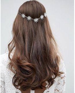 Wedding Back Hair Crown