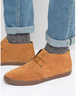 Byron Suede Mid Chukka Boots