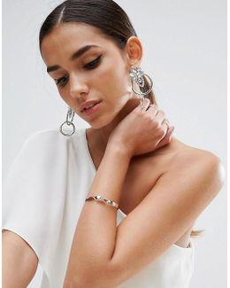 Chandelier Circle Earrings