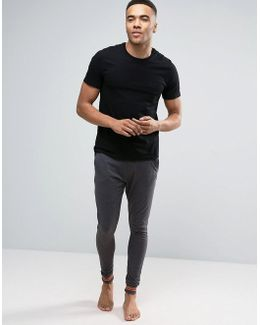 Lounge Bottoms In Charcoal