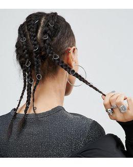 Pack Of 20 Twist Hair Rings