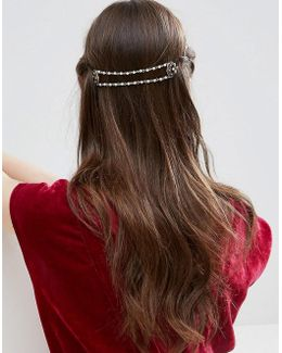 Occasion Vintage Bead Back Hair Crown