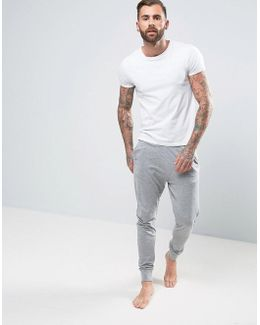 Cuffed Joggers In Slim Fit