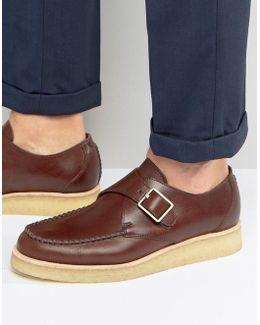Clarks Original Monk Buckle Shoes
