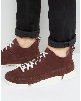 Clarks Original Trigenic Flex Suede Sneaker