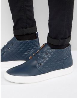 Quicker Leather Chukka Sneakers