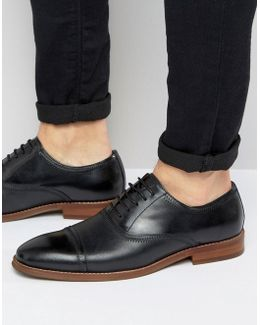 Markey Leather Oxford Shoes