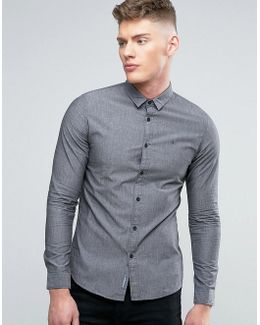Jeans Slim Fit Shirt In Castle Rock