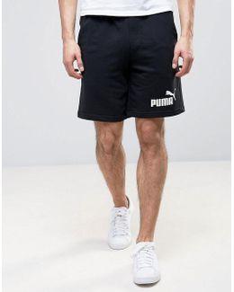 Ess No.1 Sweat Shorts In Black 838261 01