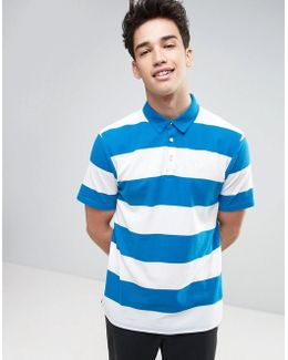 Thursby Polo Shirt In Blue Va316qm7k