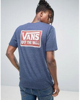 Shaping Triblend T-shirt In Blue Va312i10i