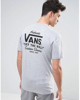 Holder T-shirt In Grey Va312yath