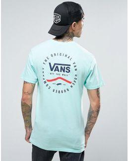 Original Rubber Co. T-shirt In Green Va2xcsm2t