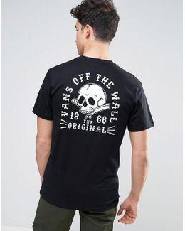 Shaved Bones T-shirt In Black Va312ublk