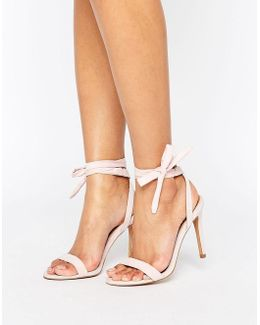 Henrietta Barely There Heeled Sandals