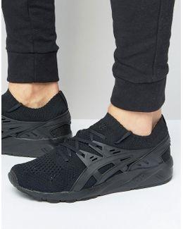 Gel-kayano Knitted Sneakers In Black H705n 9090