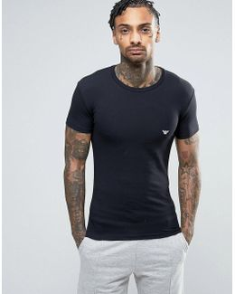 Logo Crew Neck T-shirt In Muscle Fit