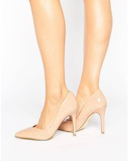 Sweetheart Pointed Court Shoe