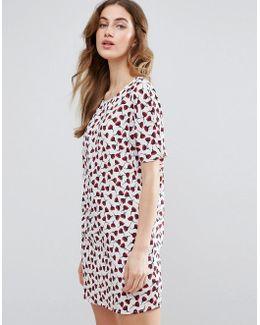 Poppy Printed Shift Dress