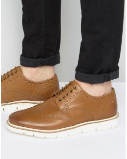 Brogues Tan Leather
