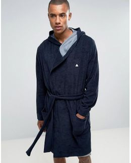 Towelling Robe With Logo