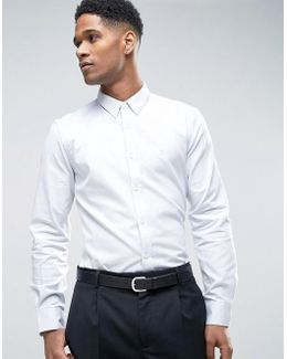 Shirt In Regular Fit Oxford Shirt With Button Down Collar