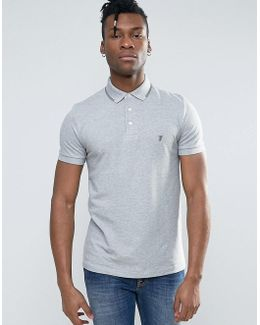 Polo Shirt With Twin Tip Collar
