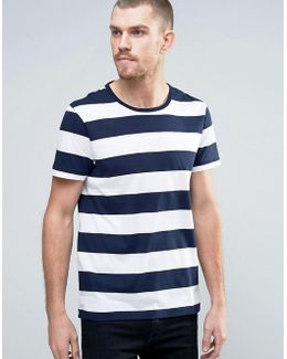 T-shirt With Stripe