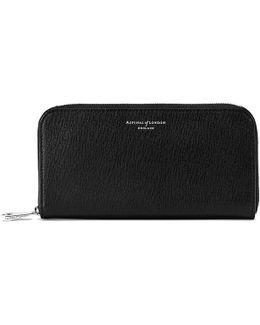 Continental Clutch Zip Wallet