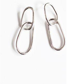 Silver Orme Chain Earrings