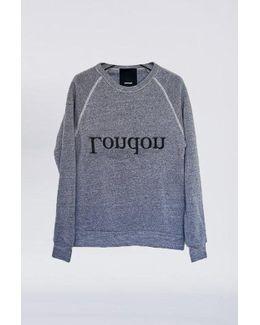Cotton London Logo Sweatshirt