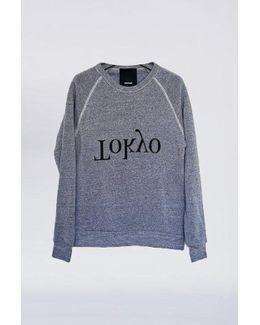 Cotton Tokyo Logo Sweatshirt