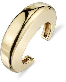 14k Gold Lunula Cuff
