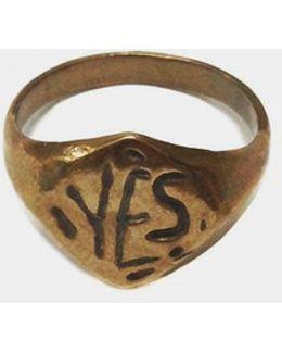 Bronze Yes Ring