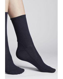 Bamboo Jersey Socks
