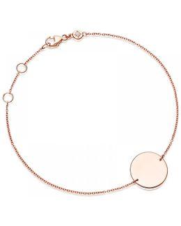 Engravable Disc Bracelet