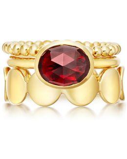 Crimson Appeal Stilla Ring Stack