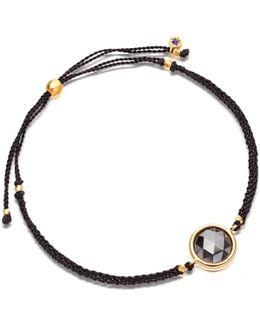 Hematite Polka Biography Bracelet
