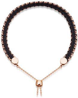 Midnight Woven Kula Biography Bracelet