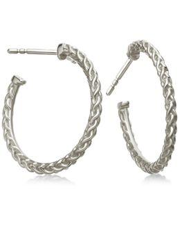 Medium Spiga Hoop Earrings