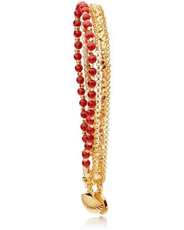 Shell Bracelet Stack
